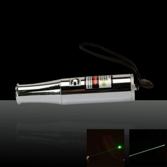 100mW 532nm Green Laser Pointer Pen with 15270 Battery