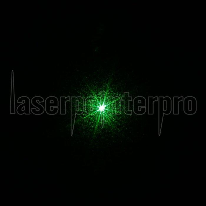200mW 532nm grüne Lichtstrahl Ein-Punkt-Edelstahl-Laser-Zeiger-Feder ...