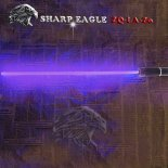 SHARP EAGLE ZQ-LV-Zo 100mW 405nm Purple Beam 5-in-1 Laser Sword Kit Black>