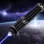 10000mw 450nm Gatling Burning High Power Blue Laser pointer kits Black>