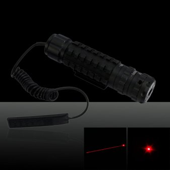 20mW 650nm Red Laser Sight with Gun Mount Black TS-E05 (with one 16340 battery)