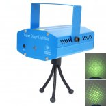 110-240V Sound Active DJ Dance Studio Red & Green Laser Stage Lighting  Blue>