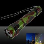 LT-501B 400mw 532nm Green Beam Light Dot Light Style Rechargeable Laser Pointer Pen with Charger Camouflage Color>