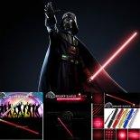 SHARP ZQ EAGLE-HO 400mW 650nm 5-en-1 Diverse modelo rojo del Rayo de luz láser multifuncional Espada Kit Negro>                                                   </a>                                               </div>                                               <div class=
