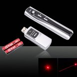 1mW 650nm USB Apresentação Wireless Laser Red remoto Pointer Pen>