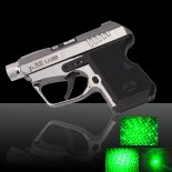 100mW 532nm Gun-Shaped Kaleidoscopic Green Laser Pointer>