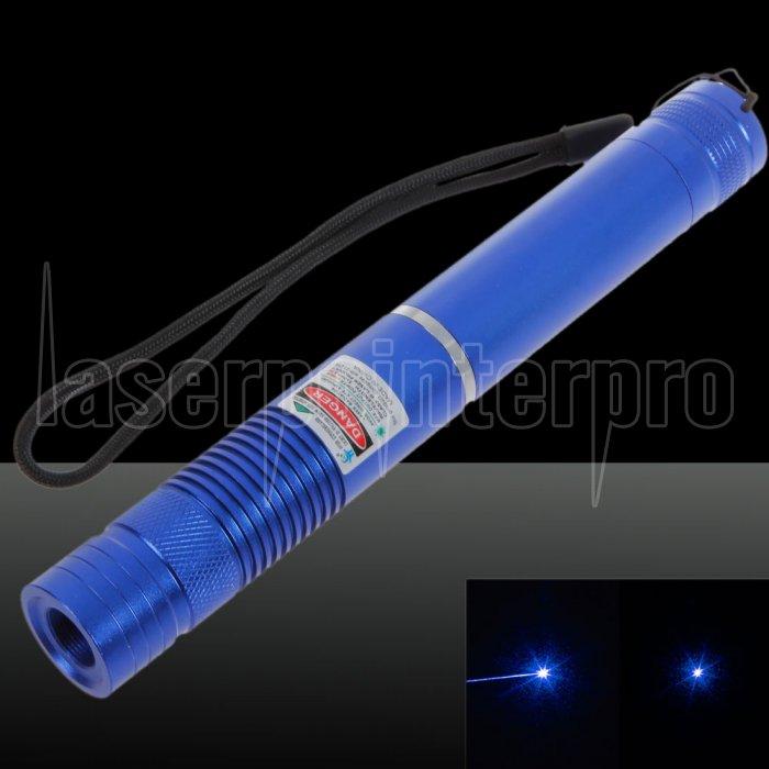 1000mW Fokus Pure Blue Beam Licht Laserpointer mit 16340 Akku Blau ...