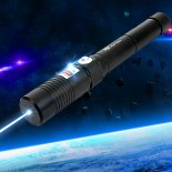 Separated Style High Power 6000mw 450nm Blue Light Alloy Laser Pointer Black>