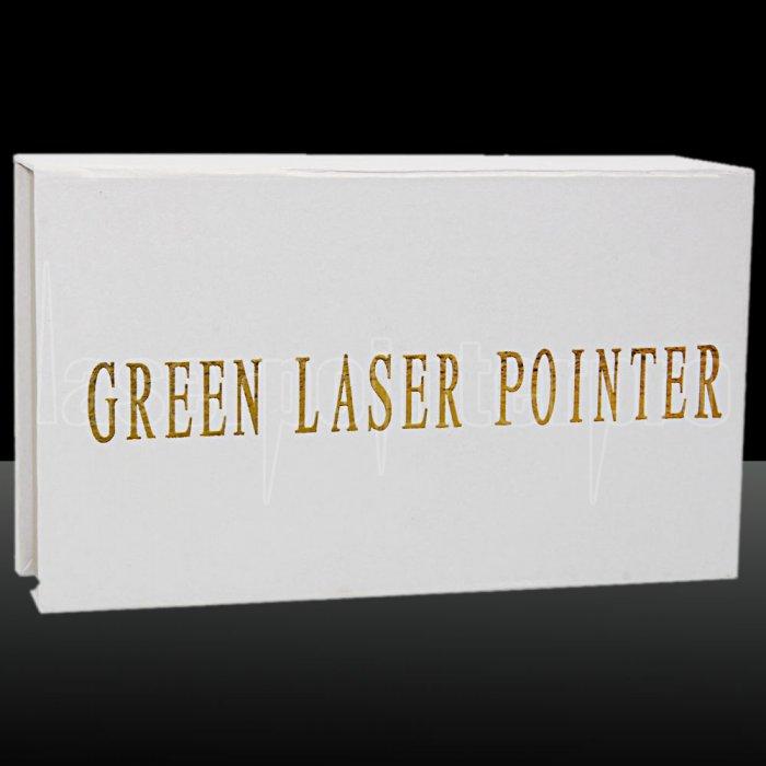 200mW 405nm blau lila Strahl Single-Point Edelstahl Laserpointer Kit ...