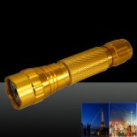 LT-501B 200mw 532nm Green Beam Light Dot Light Style Rechargeable Laser Pointer Pen Set Golden>