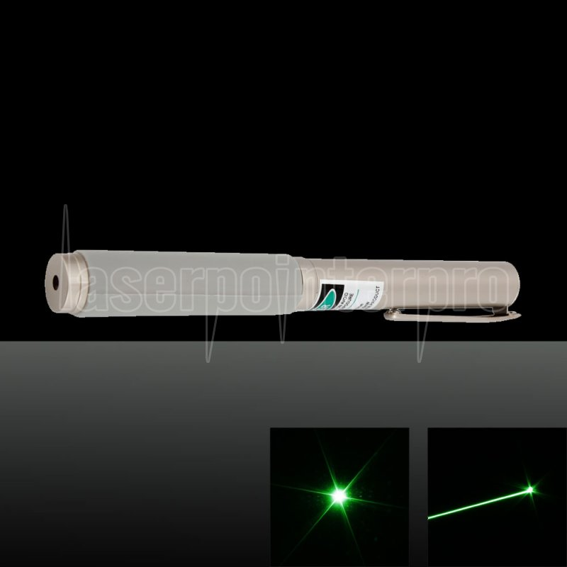 100mw 532nm 3 Modes Double Button Green Laser Pointer Pen
