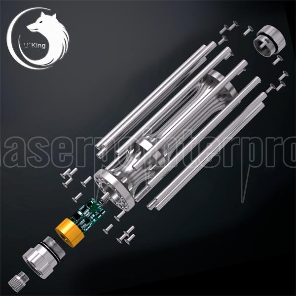 Uking Zq 15b 5000mw 445nm Blue Beam Zoomable 5 In 1 Laser