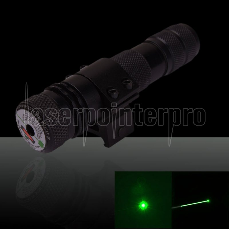 150mw 532nm Hat Shape Green Laser Sight With Gun Mount