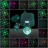 Mini Green and Red Laser Stage Lighting with Different Pattern