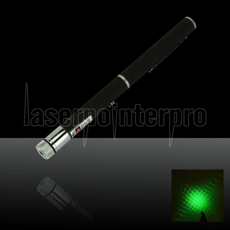 150mw 532nm Mid Open Kaleidoscopic Green Laser Pointer Pen
