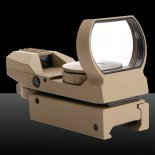 GT-HD-101S 5-Mode Vitesse Optique en alliage d'aluminium Electro Laser Sight Couleur Sable