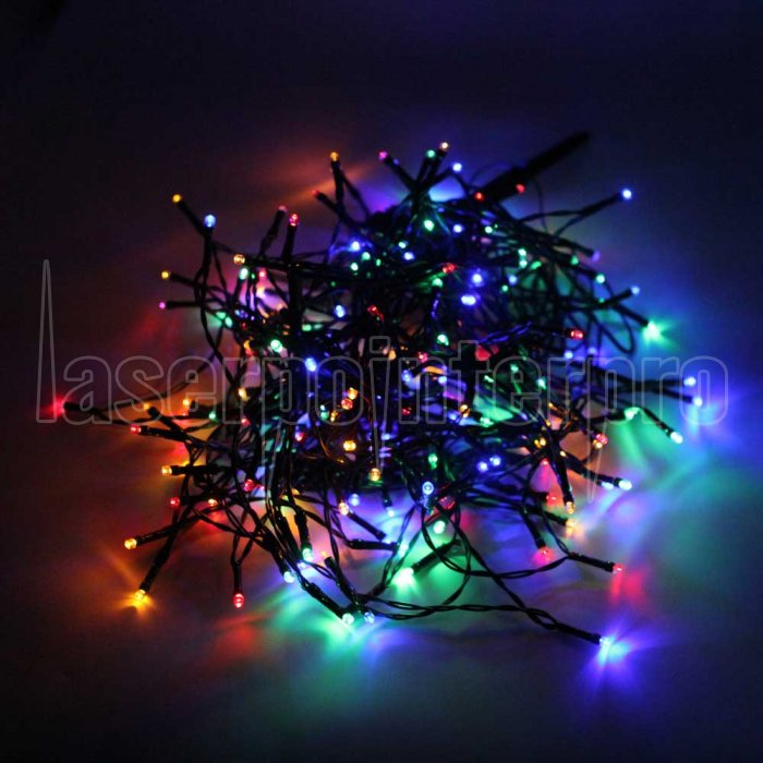 200 led colorful light outdoor waterproof christmas decoration solar power string light