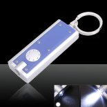 5Pcs LED Camping Keyring Torch Keychain Flashlights Lamp