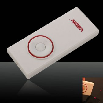 Novia V830 Wireless Presenter with Red Laser Pointer