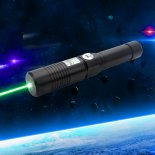 Separated Style High Power 30000mw 532nm Green Light Alloy Laser Pointer Black>