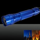 LT-501B 200mw 532nm Green Beam Light Dot Light Style Rechargeable Laser Pointer Pen with Charger Blue>