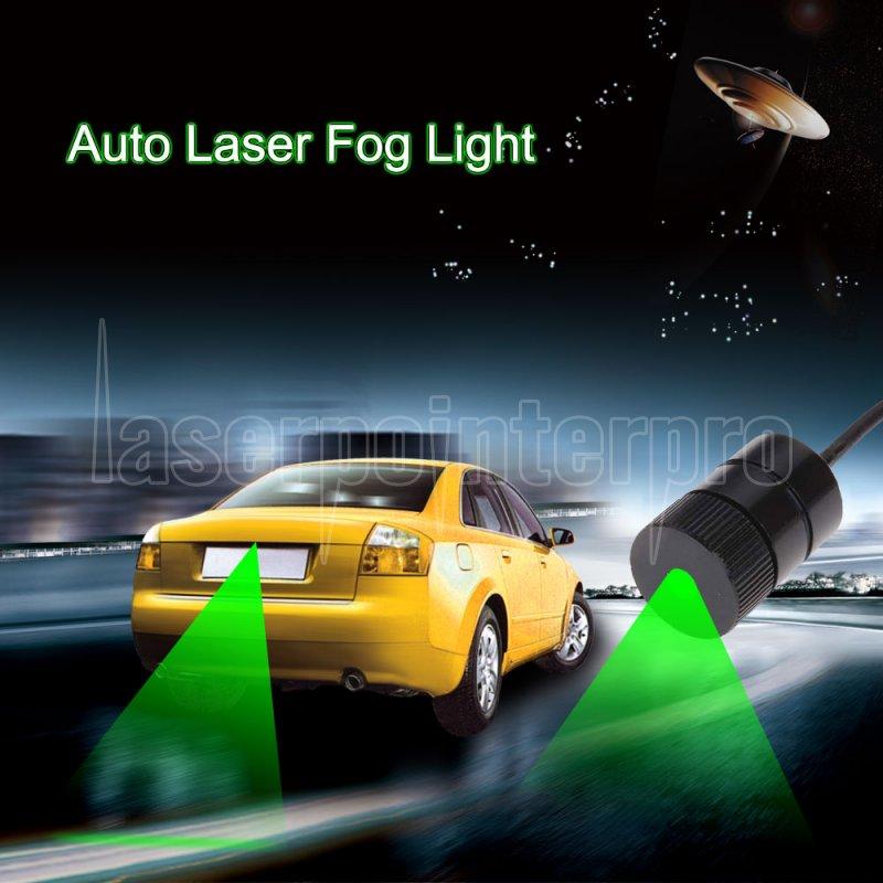 200mw 532nm Anti Collision Car Laser Fog Light Green Car