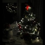 Christmas Light Weiß 4M 40 LED-Batterie-Schnur-Licht>