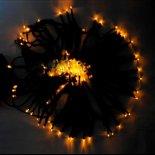 12M 100 LED giallo luce della stringa di lampada solare della decorazione di festival>                                                   </a>                                               </div>                                               <div class=