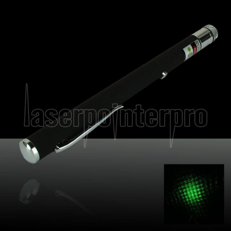 50mw 532nm Open Back Kaleidoscopic Green Laser Pointer Pen