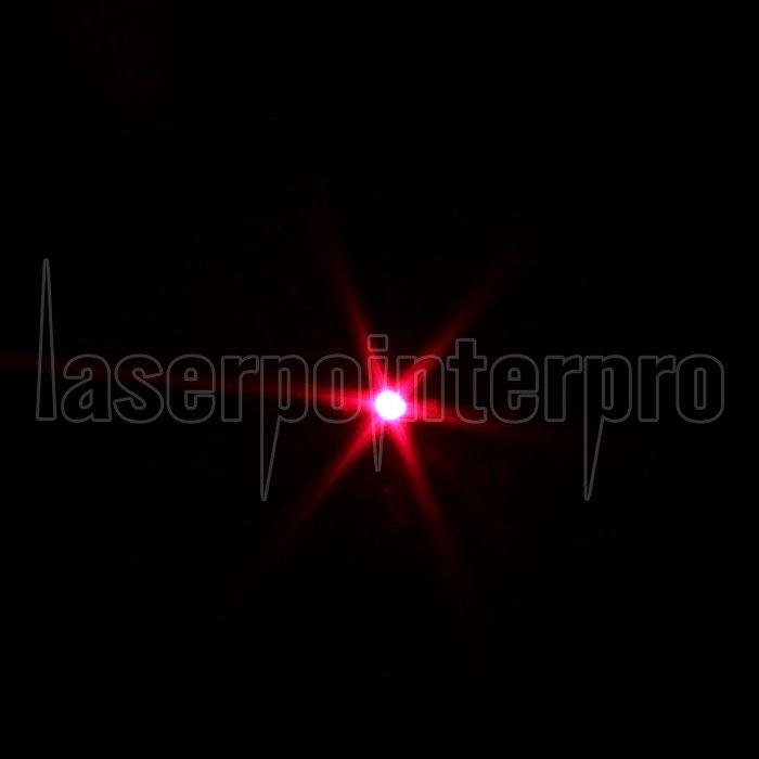 300mw 650nm Red Beam Light Laser Torch Silver