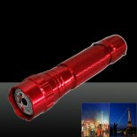 LT-501B 50mw 532nm Green Beam Light Dot Light Style Rechargeable Laser Pointer Pen with Charger Red>