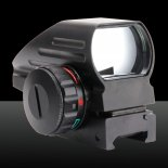 GT-HD-103 Electrodeless Gear Optics 1X Magnification Aluminum Alloy Electro Laser Sight Black>