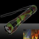 LT-501B 200mw 532nm Green Beam Light Dot Light Style Rechargeable Laser Pointer Pen with Charger Camouflage Color>