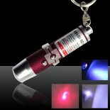 3 in 1 5mW Red Laser Pointer Pen with Red Surface (Red Lasers + LED Flashlight + Writing)