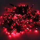200 LED Red Light Outdoor Décoration de Noël Waterproof Solar Power Light cordes
