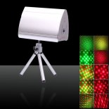 XF03V Mini Green Red & Green Disc Laser Stage Lighting Silver