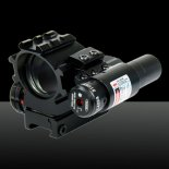 U`King ZQ-MZ03 Aluminium Red Dot Sight Reflex Laser Set pour la chasse noir