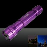501B 500mW 532nm Green Beam Light Single-point Laser Pointer Pen Purple>