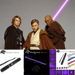 SHARP EAGLE ZQ-LV-Zo 200mW 405nm Violet faisceau 5-in-1 Laser Epée Kit Black>