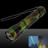 LT-501B 300mw 532nm Green Beam Light Dot Light Style Rechargeable Laser Pointer Pen with Charger Camouflage Color>