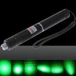 Patrón 100mW Focus estrellada verde de luz láser puntero Pen con 18650 batería recargable Negro>                                                   </a>                                               </div>                                               <div class=