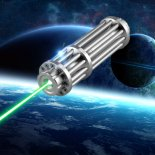 UKing ZQ-15LA 30000mW 532nm Green Laser Pointer Pen Kits Single Point Zoomable>