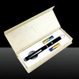 100MW 405nm faisceau réglable Violet pointeur laser noir (2 x AAA)>                                                   </a>                                               </div>                                               <div class=