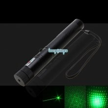 303 10000mW Professionale Green Laser Pointer Suit con 18650 Batteria e Caricatore Nero