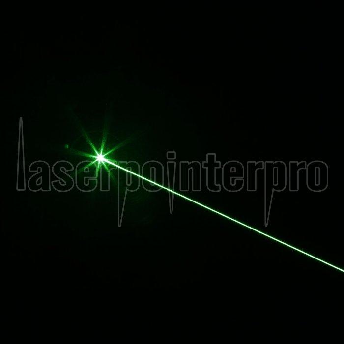 Pointeur laser vert de faisceau de 500MW (1 x 4000mAh) noir ...