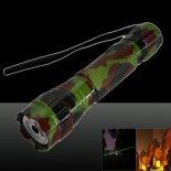 LT-501B 500mw 532nm Green Beam Light Dot Light Style Rechargeable Laser Pointer Pen with Charger Camouflage Color>