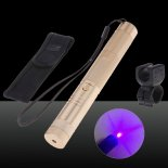 SHARP EAGLE Suit 1 500mW 405nm Starry Sky Style Purple Light Waterproof Aluminum Laser Pointer Matchstick Cigarette Lighter Luxu>