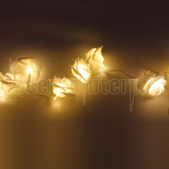 marswell 20 led weihnachtsfest dekoration warmes wei es licht led schnur licht mit batterie satz. Black Bedroom Furniture Sets. Home Design Ideas