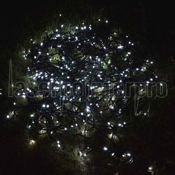 christmas light 50led solar powered white string light xmas garden decoration loading zoom