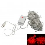 20M 200-LED Christmas Festivals Decoration 8 Working Modes Red Light Waterproof String Light (US Standard Plug)